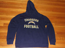 PRO LINE SAN DIEGO CHARGERS LONG SLEEVE HOODIE MENS LARGE EXCELLENT CONDITION