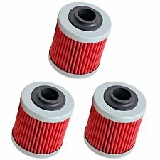 3-Pack Oil Filter Filters for Can-Am DS450 DS450X DS 450 X EFI MX XC All Models