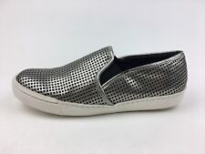 Steve Madden Pazer Slip On Flats Women's Size 8.5 M, Silver 2864