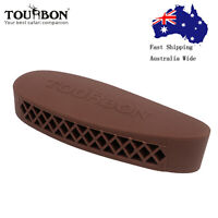 Tourbon Recoil Pad Rifle/Shotgun Plate Shooting Buttstock Plate Rubber