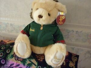 "HARRODS 2020 13"" CHRISTMAS BEAR NICHOLAS SOLD OUT"