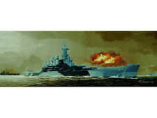 Trumpeter 05303 1/350 USS Battleship BB-55 North Carol Plastic Model Warship Kit