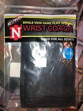 new Nip Newmann single view game plan opening wrist coach youth black