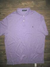 Polo Ralph Lauren Pima Soft Touch Short Sleeve Polo Shirt  (XXL) Purple