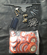 New Tenor  sax repair parts screws,parts+Tenor sax pads Complete Set of 25 pads