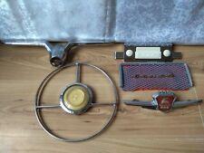 Set Volga GAZ 21 Vintage Soviet USSR Original Emblem wheel