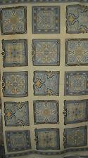 Robert Kaufman Grandeur 2 panel Slate Quilt Fabric - 2/3 Yd