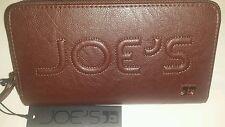 Joe's Jeans Zip Around Monogram Wallet Brown NWT$57.70