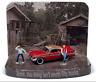 A.S.S NEU Johnny Lightning 1/64 Plymouth Fury Christine Unrestored Diorama Figur
