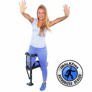 iWALK3.0 Hands Free Crutch - Pain Free Knee Crutch - Alternative to Crutches