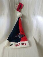 Boston Red Sox Christmas Santa HAT 2018 9X World Series Championship MLB FOCO