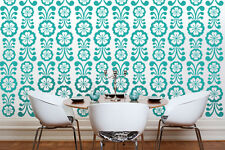 Flower Wall Decal, Flower Wall Decorations, Retro Wall Decor, Mid Century Modern