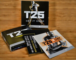 Beachbody Focus T25 Alpha + Beta Workout Strength Fitness (7 discs) Missing one