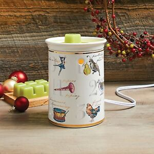 Better Homes and Gardens Wax Warmer Holiday 12 Days Of Christmas