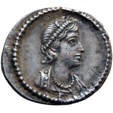 SCARCE ROMAN COIN SILVER THIRD SILIQUA ANONYMOUS-TIME OF CONSTANTINE