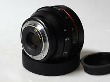 Customized Canon 50mm f1.8 Canon EF mount for Canon 5D BMCC BMPCC SONY A7S II