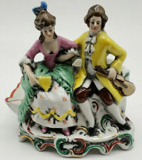 Erphila Porcelain Figurine Man Courting Woman Made In Germany-Lovely!