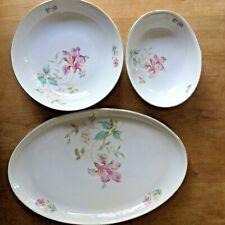 3 Arzberg Serving Pieces 2 Bowls 1 Platter Germany Porcelain
