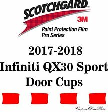 3M Scotchgard Paint Protection Film Pro Series For 2017 2018 Infiniti QX30 Sport