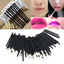 Disposable Makeup Cosmetic Lip Brush Set Lipstick Gloss Wands Applicator 100 PCS