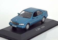 Mercedes benz c 200 w202 sedán 1993-95 blue metalizado azul 1:43