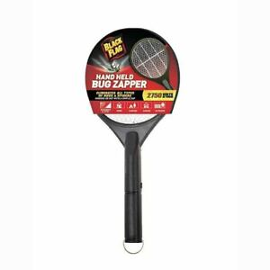 BLACK FLAG 0.09-Watt Battery-Powered Bug Zapper Racket