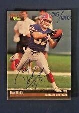 1995 Classic Pro Line   - DON BEEBE -  Autograph -  345/1200
