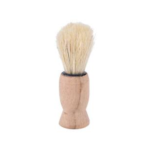 Wood Handle Badger Hair Beard Shaving Brush for Men Mustache Barber Tool YDA`hw