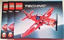 Lego 9394Technic  Jet Plane Flugzeug + Bauanleitung