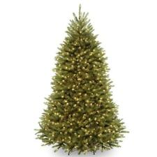 National Tree Company Pre-Lit Dunhill Fir Hinged Full Artificial Tree 7.5ft