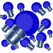 Lot de 25 ampoules LED smd B22 (bleu) résistance aux chocs 2W (équiv. 15W)