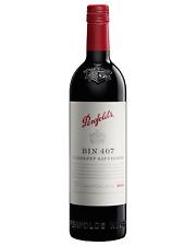 Penfolds Bin 407 Cabernet Sauvignon 2015 case of 6 Dry Red Wine 750mL