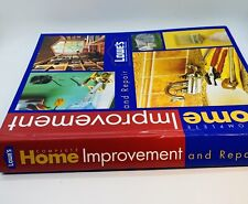 Lowes Complete Home Improvement And Repair Hardcover Book