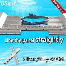 Silver aquarium montage rail/barres/light kit, connect panneaux ensemble, daisy-chain