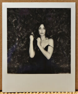 NOT 1 BUT 3 SIGNED ORIGINAL 2021 RUSSELL LEVIN POLAROIDS OF ANOUSH ANOU