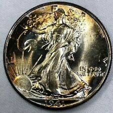 1941 P Silver Walking Liberty Half Dollar 50c ~ Lustrous Brilliant Uncirculated