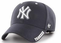 New York Yankees Cap MLB Baseball 47 Brand Cap Kappe Klettverschluß Blau