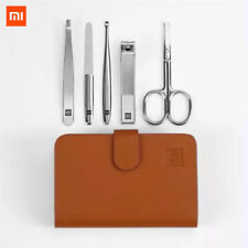 Xiaomi 5pcs Stainless Steel Manicure Nail Clippers Nose Hair Trimmer Travel Set