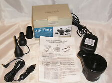 Northwest Territory Electric Air Pump w/ 110V & Car Adaptors, 3 Air Nozzles