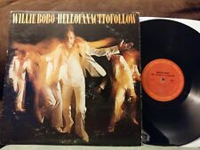Willie Bobo Hell Of An Act To Follow LP 1978 Columbia JC 35374 latin jazz funk