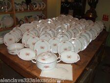Vajilla de Porcelana BIDASOA Embalaje Original de Fabrica Completa 50 piezas