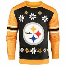 Forever Collectibles NFL Men's Pittsburgh Steelers Printed Ugly Sweater
