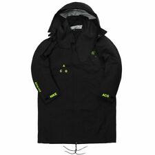 Nike NikeLab ACG Gore-Tex Coat Parka Jacket Black/Volt AQ3516 010 Men's S, M, L