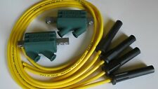 Suzuki GSX600 F 89 to 05 Dyna Performance Ignition Coils & Taylor Leads. Yellow