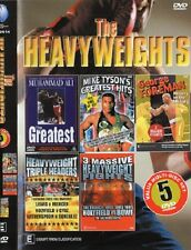THE HEAVYWEIGHTS PACK - 5 DISC SET  BOXING DVD - COLLECTORS EDITION