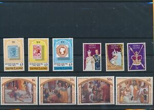 LO44113 Sierra Leone sir Rowland Hill religious art fine lot MNH