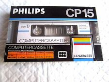 ( NEW SEALED ) - PHILIPS CP 15 COMPUTER CASSETTE SINCLAIR ZX SPECTRUM COMMODORE