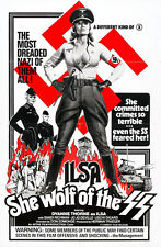 """Ilsa She Wolf of the SS  Movie Poster  Replica 13x19"""" Photo Print"""