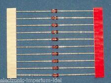 10 x Zenerdioden 6,8 V / 1,3 W