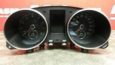 2009 Volkswagen Golf 1.4 Petrol Automatic Speedometer Speedo Instrument Cluster